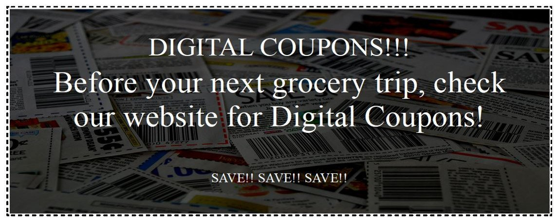 Digital Coupons